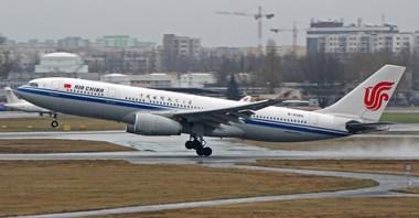 Air China wraca na Lotnisko Chopina. Zostawi cargo, odleci z pasażerami