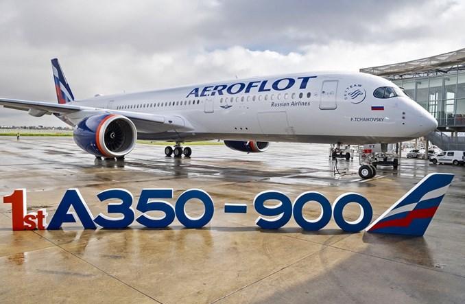 Airbus: Aerofłot odebrał pierwszego A350-900 w nowych barwach