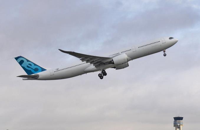 Pierwszy lot A330neo ze zwiększoną MTOW do 251 ton