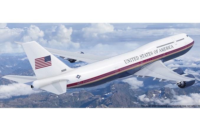 Boeing rozpoczyna modyfikacje pierwszego B747-8I na Air Force One