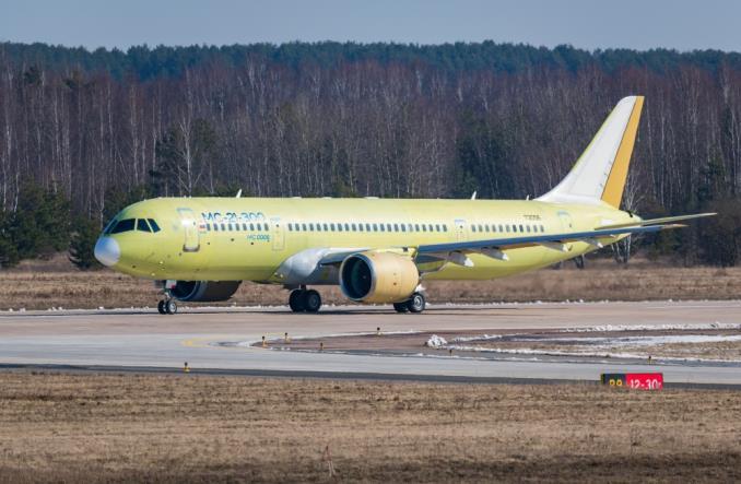 Irkut: Czwarty MC-21 poleciał na testy do Moskwy