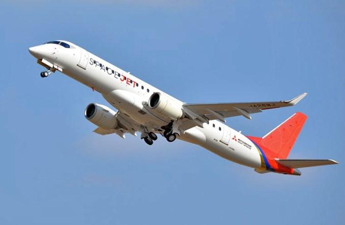 Mitsubishi: Pierwszy lot M90 w ostatecznej konfiguracji testowej
