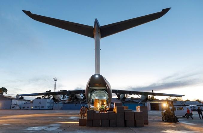 Airbus pomaga Hiszpanii w walce z koronawirusem