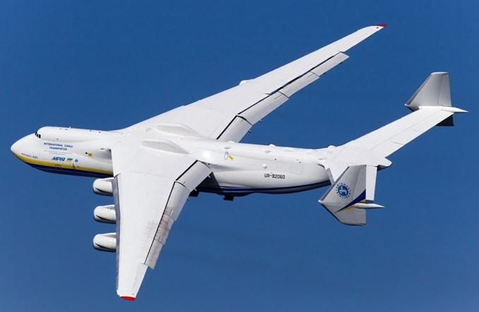 An-225 Mrija 14 kwietnia o 9:30 w Warszawie