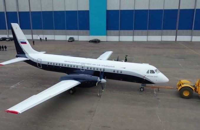 Iljuszyn przeprowadził konsultacje z liniami lotniczymi ws. regionalnego samolotu Ił-114-300