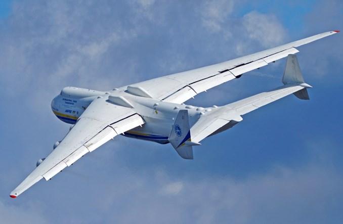 An-225 wylądował w Warszawie!