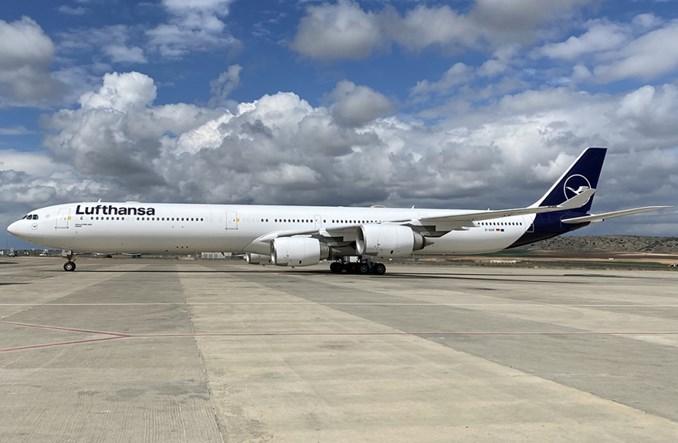 Lufthansa tymczasowo wycofuje flotę airbusów A340-600