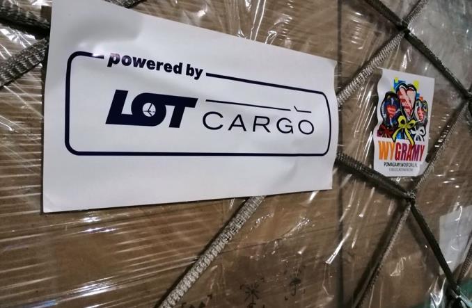LOT dostarczył sprzęt medyczny zakupiony przez WOŚP