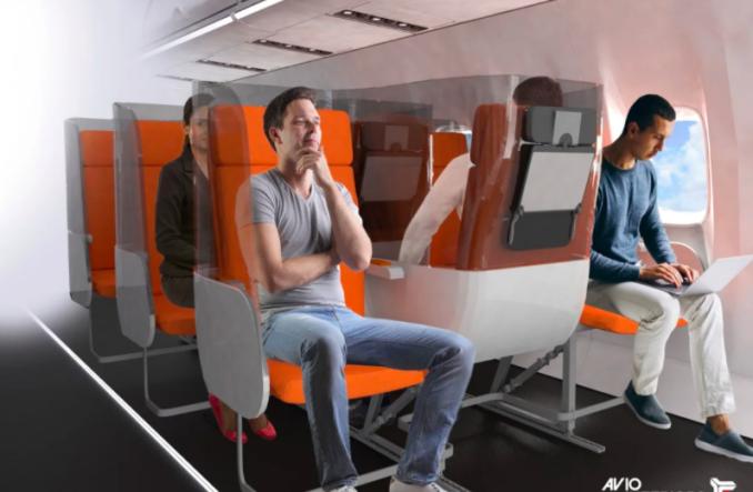 Szklane ścianki i zmienny układ foteli receptą na kryzys linii lotniczych?