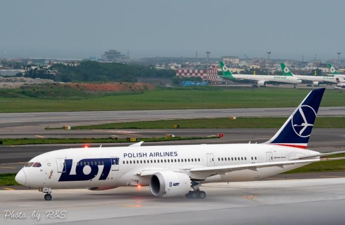 Zakończył się historyczny rejs LOT-u do Tajpej (zdjęcia)