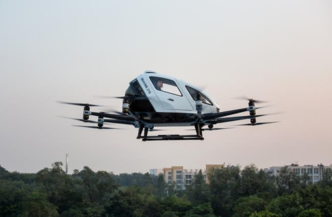 Chiny: Pierwsze na świecie lotnisko dla latających taksówek do końca 2020 r.