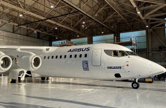 Airbus i Rolls-Royce kończą hybrydowo-elektryczny program E-Fan X