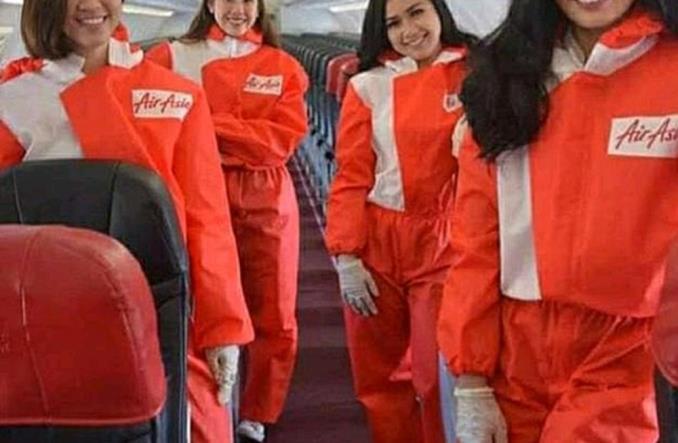 Tak wygląda przyszłość latania? Nowe uniformy AirAsia