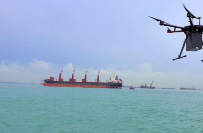 Morskie porty gotowe na dronową rewolucję. Pandemia przyspieszy zmiany?