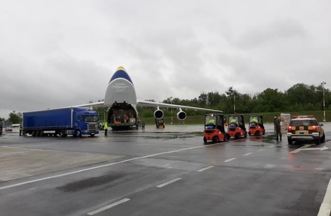 Ostatni transport pomocy od Lotosu wylądował we Wrocławiu