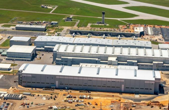 Airbus oficjalnie otwiera zakład produkcyjny A220 w USA