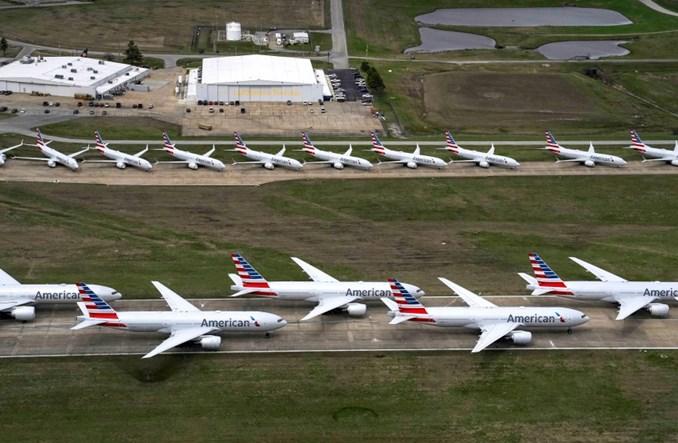 COVID-19: 5 tys. samolotów może zostać wycofanych na świecie