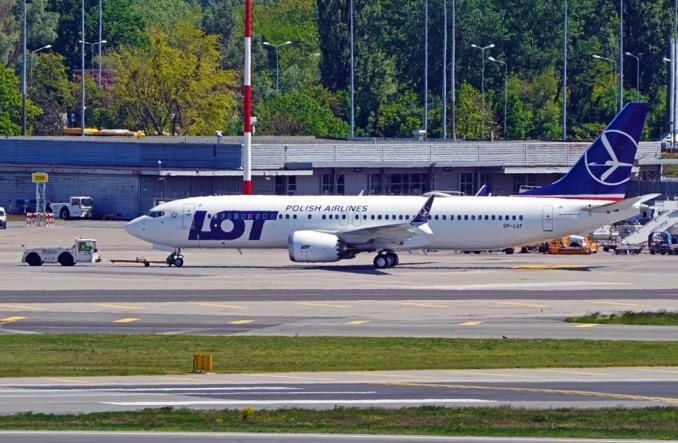 LOT przebazował ostatniego B737 MAX do Lublina