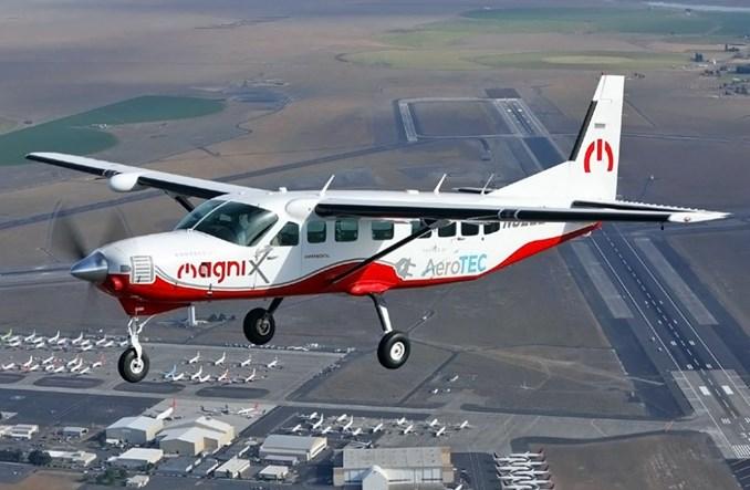 Pierwszy lot techniczny elektrycznej Cessny Grand Caravan
