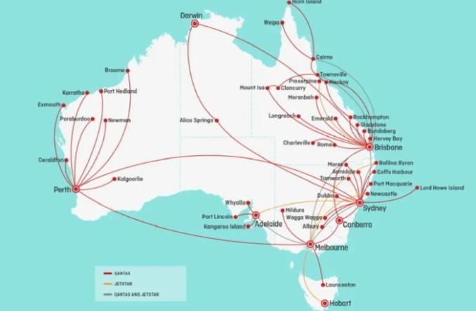 Qantas i Jetstar zwiększają oferowanie. Najwięcej zyska Sydney i Canberra