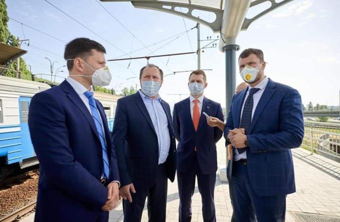 """Kijów: Nowy przystanek na trasie """"ekspresu boryspolskiego"""" – z przesiadką na metro"""