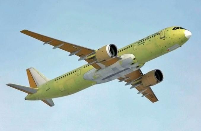 Irkut: Czwarty MC-21 poleciał na malowanie. Więcej lotów technicznych