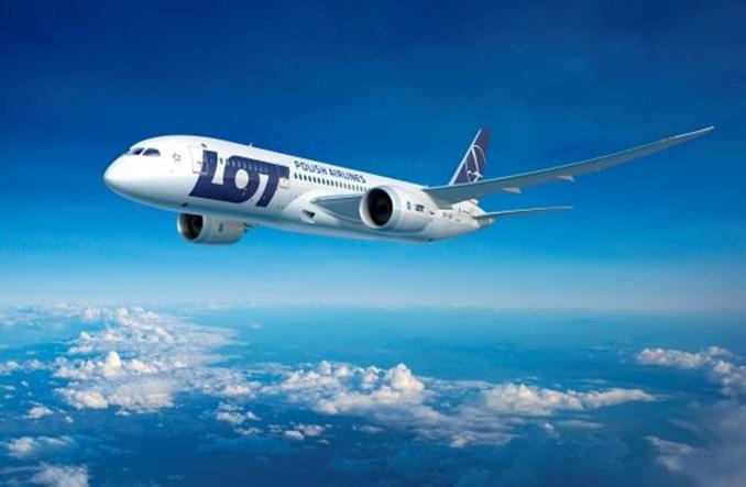Ministerstwo o nowej siatce LOT i zniesieniu ograniczeń na pokładach samolotów