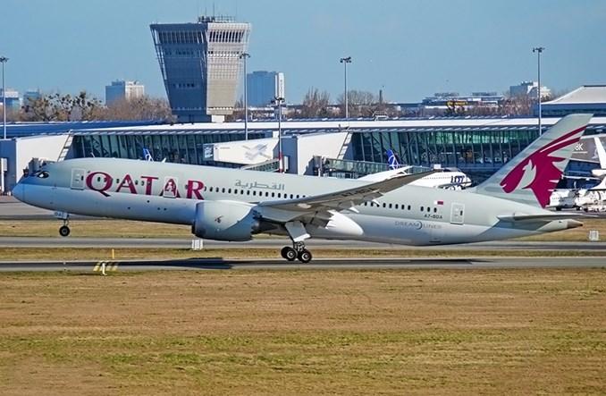 Qatar Airways powróci Dreamlinerem do Warszawy
