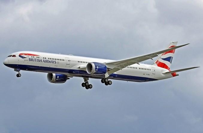 British Airways odebrały pierwszego boeinga B787-10 Dreamliner