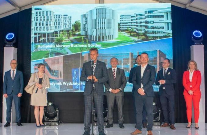 Gdańsk Airport: Wmurowano kamień węgielny pod biurowiec Alpha