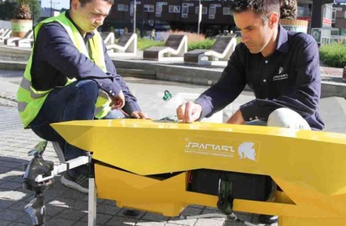 Dronoid zdezynfekował Rynek w Katowicach. Standard w przyszłości?