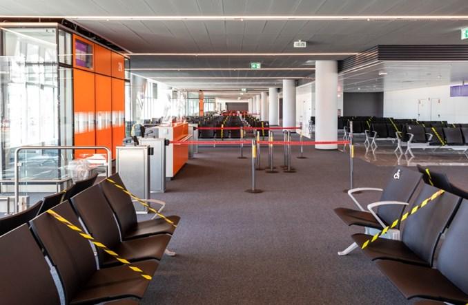 Lotnisko Chopina z nowoczesnymi gate'ami dla pasażerów Non Schengen