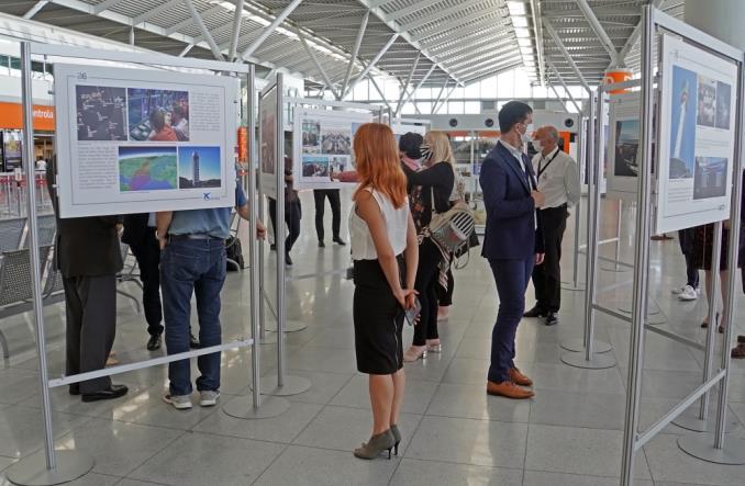 Wystawa PAŻP na inaugurację międzynarodowych lotów z Polski