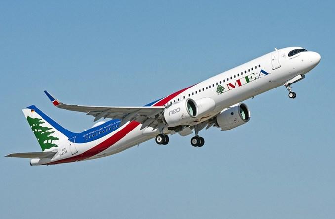 Middle East Airlines odebrały pierwszego A321neo