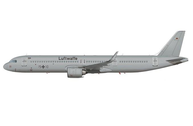 Lufthansa Technik wyposaży dwa nowe airbusy A321neoLR dla Luftwaffe