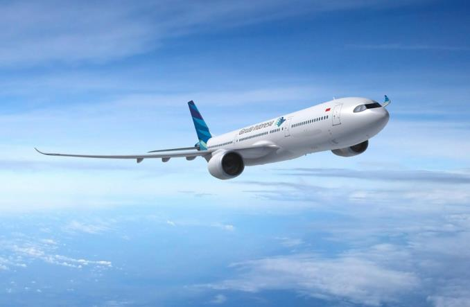 Garuda Indonesia chce opóźnić odbiory samolotów od Airbusa