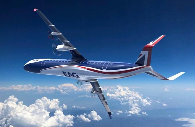 Electric Aviation Group: Pierwszy na świecie hybrydowo-elektryczny samolot dla 70 pasażerów