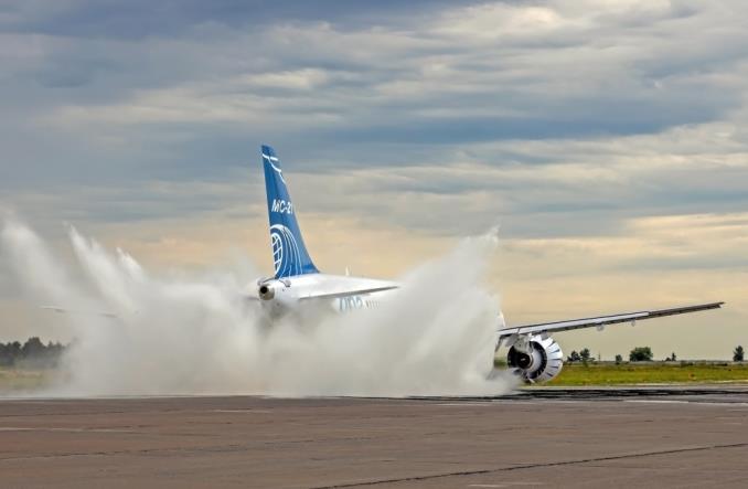Irkut zakończył testy wodne nowego MC-21-300 (Zdjęcia)