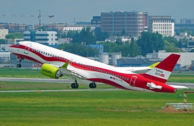 Linie airBaltic omijają już przestrzeń powietrzną Białorusi