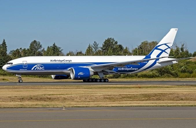 Flota AirBridgeCargo wzbogaciła się o nowego boeinga B777F
