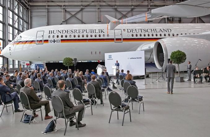 Lufthansa Technik przekazała pierwszego airbusa A350 dla niemieckich VIP-ów