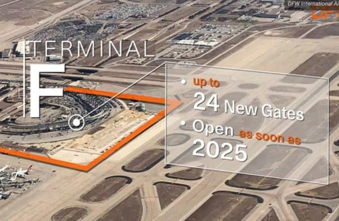 Port w Dallas wstrzymał budowę terminalu dla American Airlines