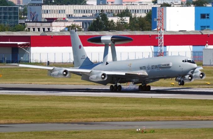 Aviation Detachment Rotation 20-4: Słynny AWACS nad Warszawą i Polską