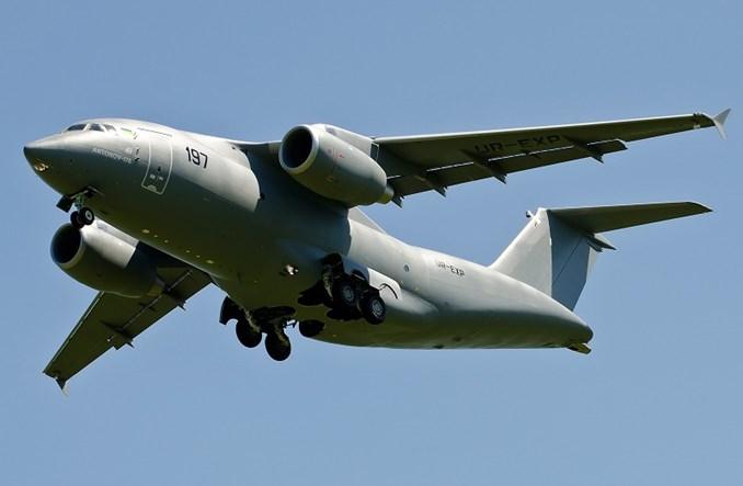 Antonow buduje pierwszy An-178 bez rosyjskich części