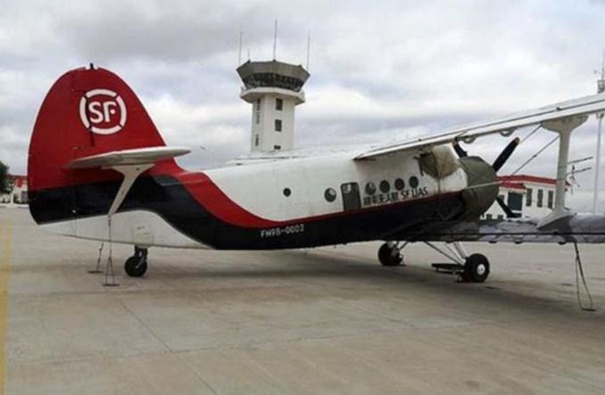 Udany próbny lot chińskiego drona cargo