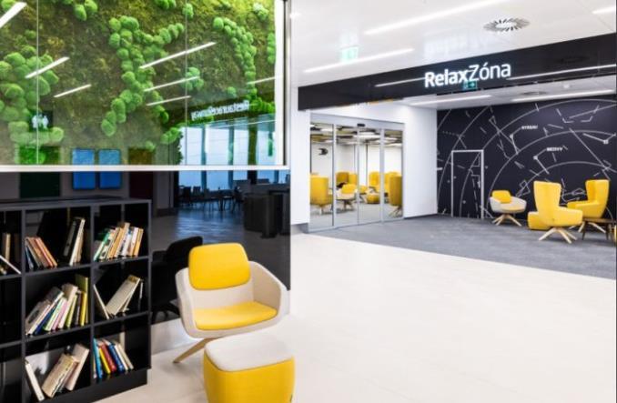 Nowa strefa relaksu na lotnisku w Pradze