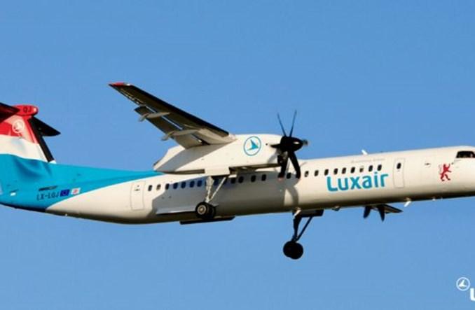 Luxair straciły w 2020 roku 155 mln euro i ponad 70 proc. pasażerów