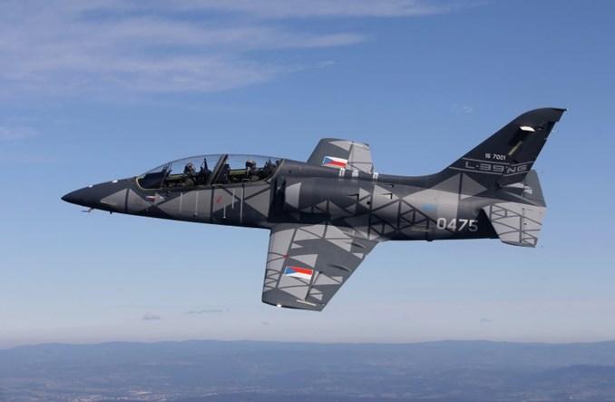 Czeski szkoleniowy L-39NG z certyfikatem typu