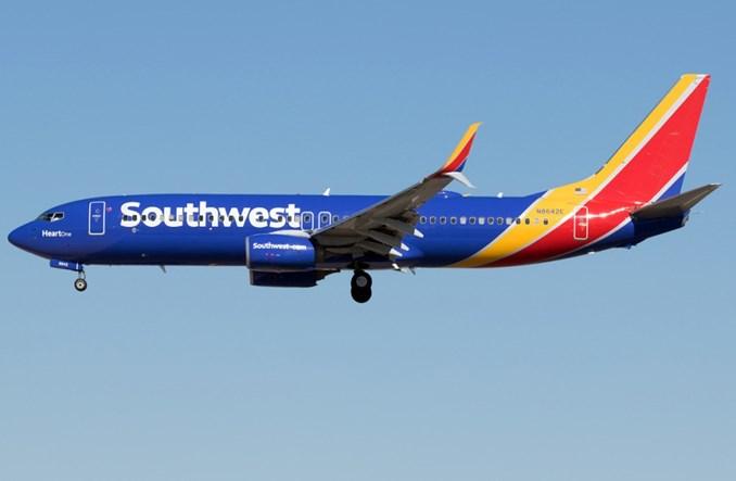 Southwest Airlines uziemiły tymczasowo 130 Boeingów 737-800