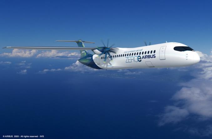 Airbus przedstawia nowy samolot koncepcyjny o zerowej emisji